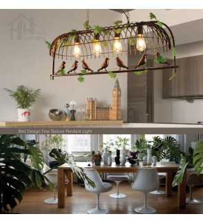 HH Natura 4-Light Creative Artificial Plants Pendant