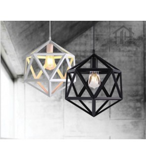HH Minimalist 1-Light Geometric Pendant