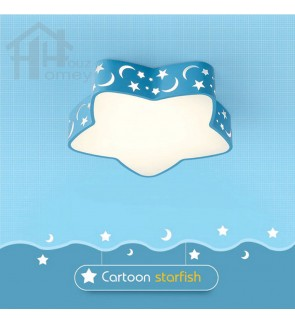 HH Colour-Pop Integrated LED Starfish Ceiling Flushmount
