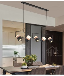 HH Metallic Integrated LED Navia II Adjustable Pendant